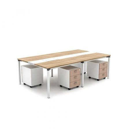 HighPoint Metric 04 Workstation Cappucino