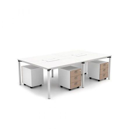 HighPoint Metric 04 Workstation White